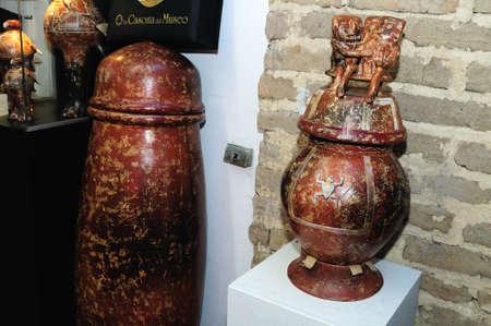 Hombres de Barro -  La Casona del Museo    in  BOGOTA .Department of Cundimarca. COLOMBIA