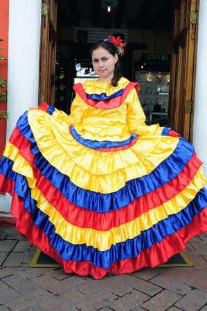 Traditional dress   LA CASONA del Museo   in  BOGOTA Department of Cundimarca COLOMBIA