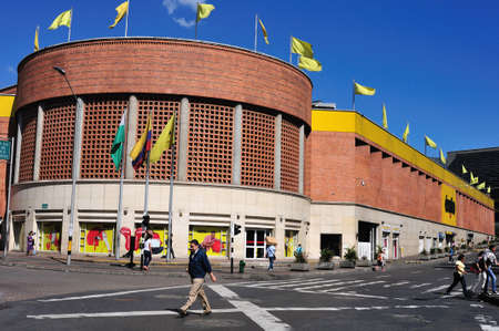 Exito shopping centre in SAN ANTONIO district -  Center of  MEDELLIN .Department of Antioquia. COLOMBIA