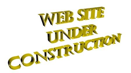 Foto per Web Site Under Construction - In costruzione - Immagine Royalty Free