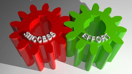 Success and Effort mating gears