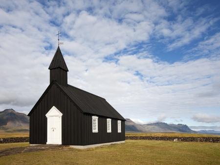 Islandic wooden church