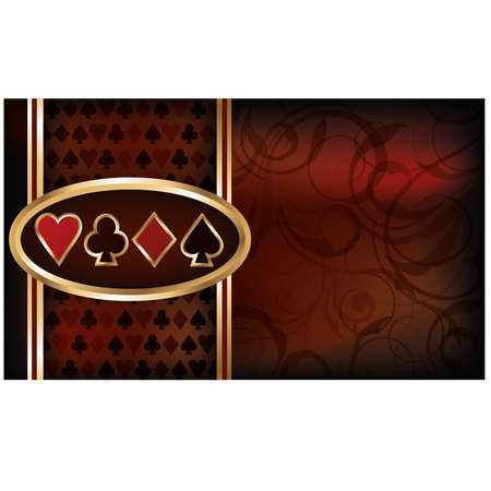 Casino business card
