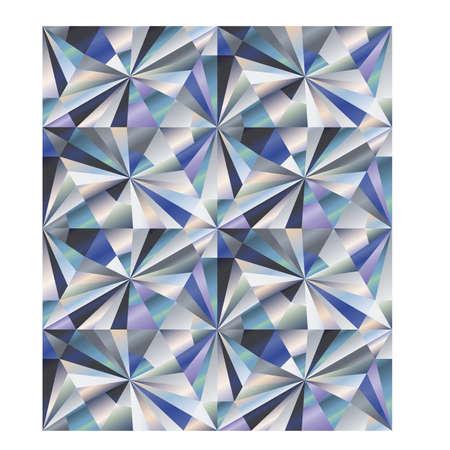 Ilustración de Diamond seamless wallpaper, vector illustration - Imagen libre de derechos