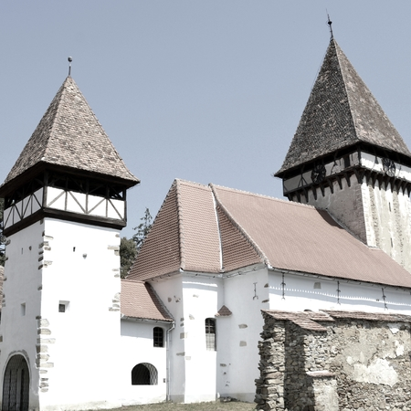 Fortified medieval saxon evangelic church  in Veseud, Zied, is a village in the commune Chirpăr from Sibiu County, Transylvania, Romania, first attested in 1379