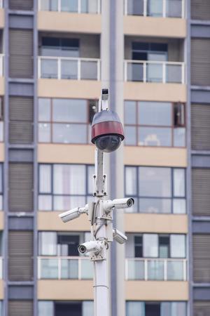 Security CCTV camera and urban video, electronic device.