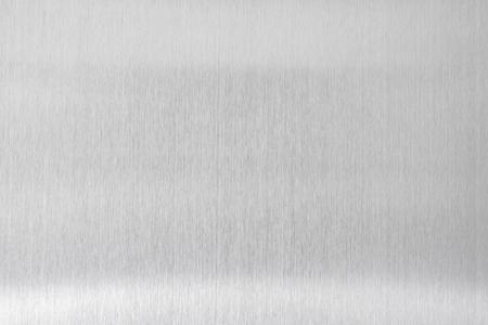 Photo pour texture metal background of brushed steel plate - image libre de droit