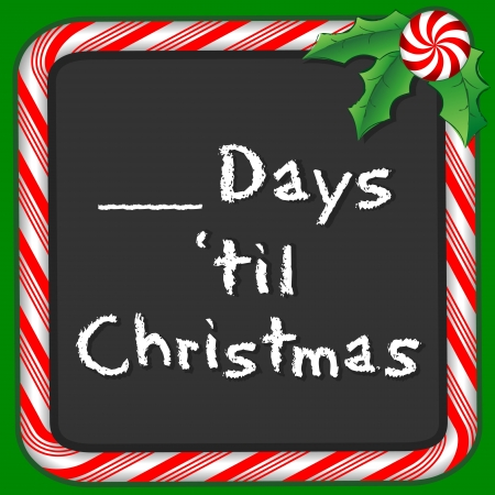 Count the Days until Christmas holiday