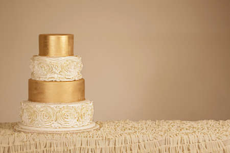 Photo pour Wedding Cake - image libre de droit