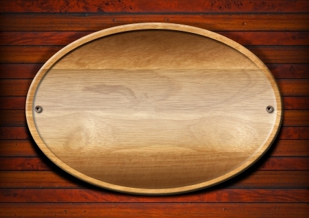 Wooden plate on wooden and old vintage background