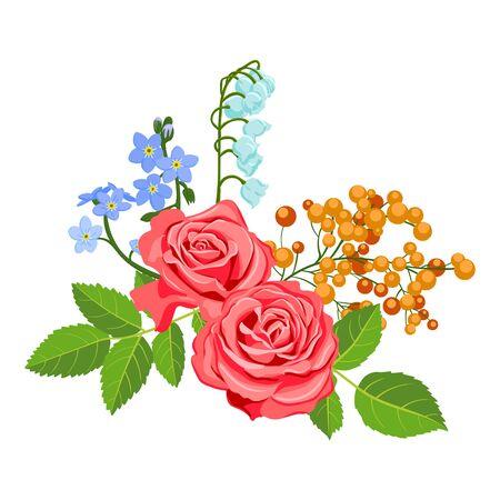 Illustration pour vector drawing flowers - image libre de droit