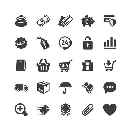 Retina eCommerce Icons Set