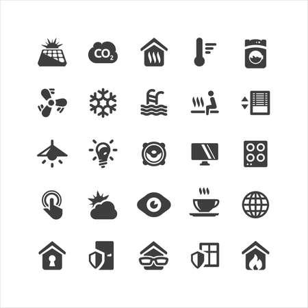 Retina Smarthome Icons Set