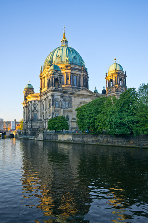 Berliner Dom over the Spree river - Germany