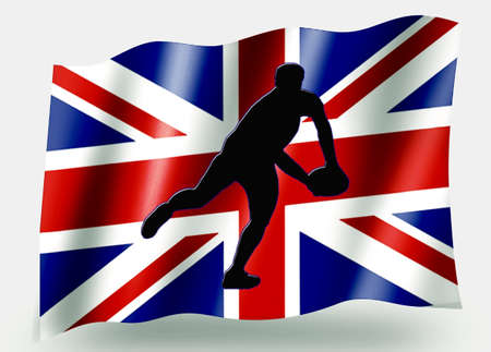 Country Flag Sport Icon Silhouette Series – UK Rugby Pass