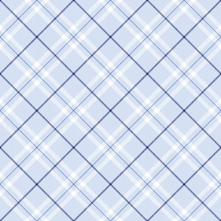 Light blue plaid with dark blue and white  stripes