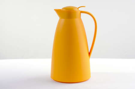 Yellow thermos bottle