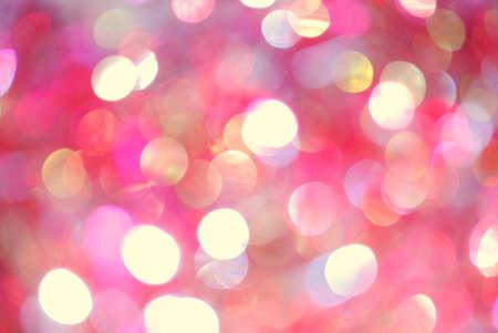 Pretty pink light blur