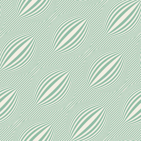 Striped bubbles print  Seamless pattern  Vector