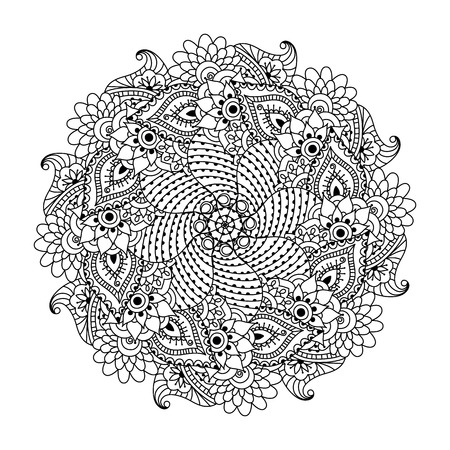 Flower Power Mandala