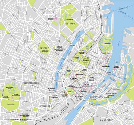 Map of Copenhagen