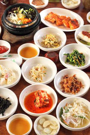 Photo pour  Korean Side Dishes - image libre de droit