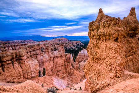 scenic view of bryce canyon in utah