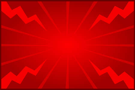 banner red frame template blank on graphic light zoom thunder beam effect background red and copy space for message advertising banner promotion sale discount on media social online marketing products
