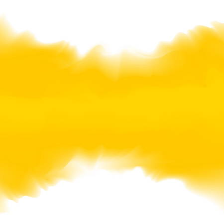 Illustration pour illustration yellow color soft in concept water color art style, abstract texture yellow colors painting art brush watercolor for background card and banner advertising, water color digital painting - image libre de droit