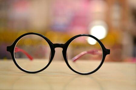 Photo pour eye glasses - image libre de droit
