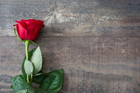 Photo pour Valentine rose - image libre de droit