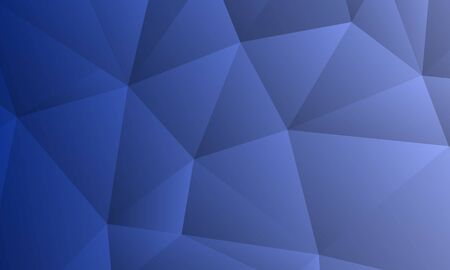 Illustration pour abstract blue low poly background ,modern background with futuristic poly, modern dark blue background, can be used for banner sale, wallpaper, for, brochure, landing page. - image libre de droit