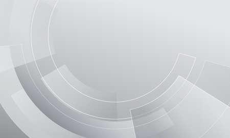 Photo pour Grey wheel geometric technology background with gear shape. Vector illustration abstract graphic design. - image libre de droit
