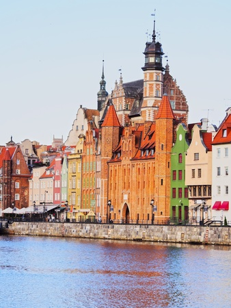 Colorful Homes Of Gdansk