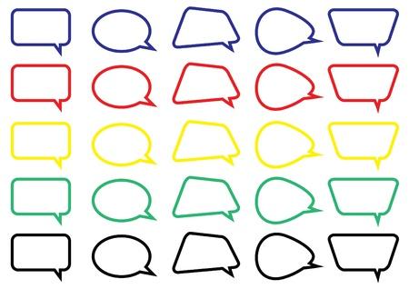 colorful bubble chat box ver 2