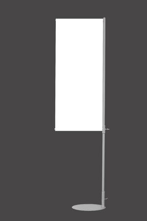 isolated  j-flag banner on grey background