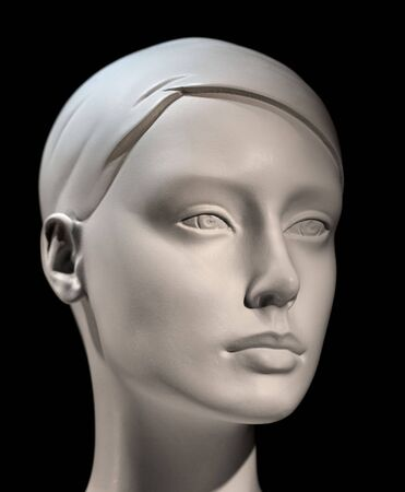 Head of mannequin with low depth of field