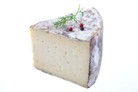 Tomme de Savoie, a traditional mountain  french cheese