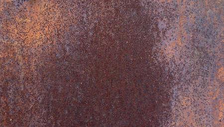 Photo pour Industrial rusty metal background texture with flaking. - image libre de droit