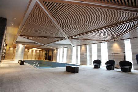 Swimming club photos, hotel leisure area