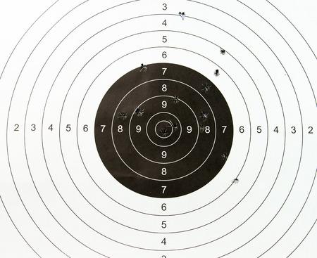 Photo pour target paper - image libre de droit