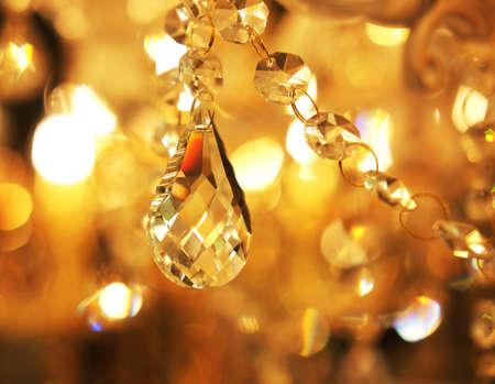 Photo pour ceiling lamps, chandeliers in the store - image libre de droit