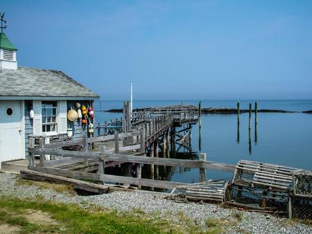 fisherman's house on lake in Cape Breton Novia Scotla canada