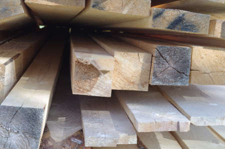 pile of boards and bars