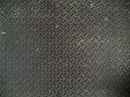 Photo pour Diamond Steel Floor Plate Texture Pattern. - image libre de droit