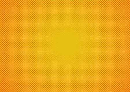 Ilustración de Abstract Gradient Background With Beautiful Halftone. - Imagen libre de derechos