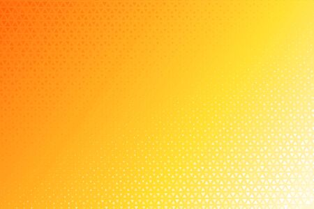 Illustration for Triangle Halftone Pattern. Many yellow triangular backgrounds that look modern. - Royalty Free Image