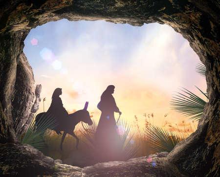 Photo pour Nativity concept - image libre de droit