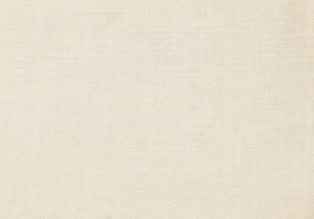 Photo pour Light cream natural linen texture as background - image libre de droit