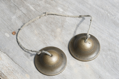 Ching; Thai musical instrument; small cup shaped cymbals